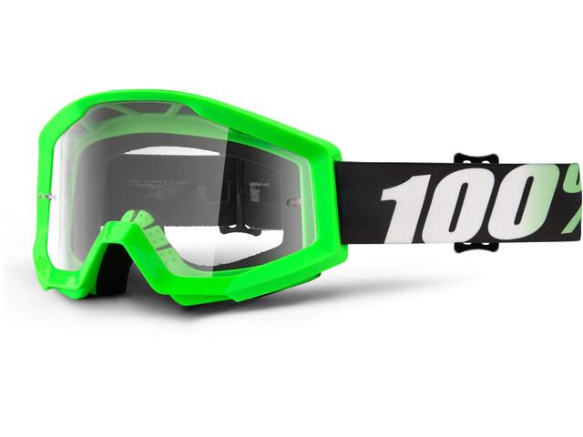 100% Strata goggles groen